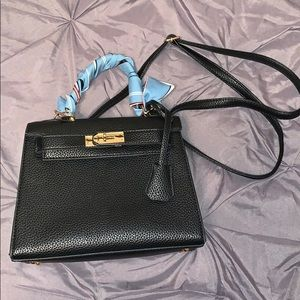 Faux Leather Inspired Crossbody